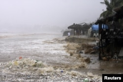 Ураган в Мексике. Сентябрь 2014 года