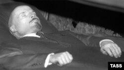 Рэшткі цела Ўладзіміра Леніна. Масква, 30кастрычніка 1993