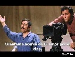 """Mohsen Makhmalbafın """"Salam sinema"""" filmindən bir kadr."""