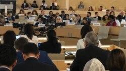 Türkmenistan aýallaryň hukuklary barada hasabat berdi, problemalary ret etdi