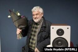 Уладзімер Арлоў на ўручэньні прэміі імя Ежы Гедройця