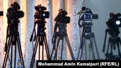 Видеокамеры. Иллюстративное фото.