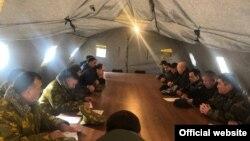 Переговоры делегаций Таджикистана и Кыргызстана