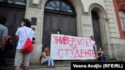 Protest studenatau Beogradu (3. septembar 2020)