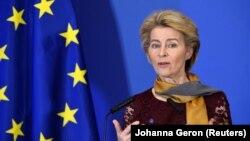 Presidentja e Komisionit Evropian,Ursula von der Leyen.