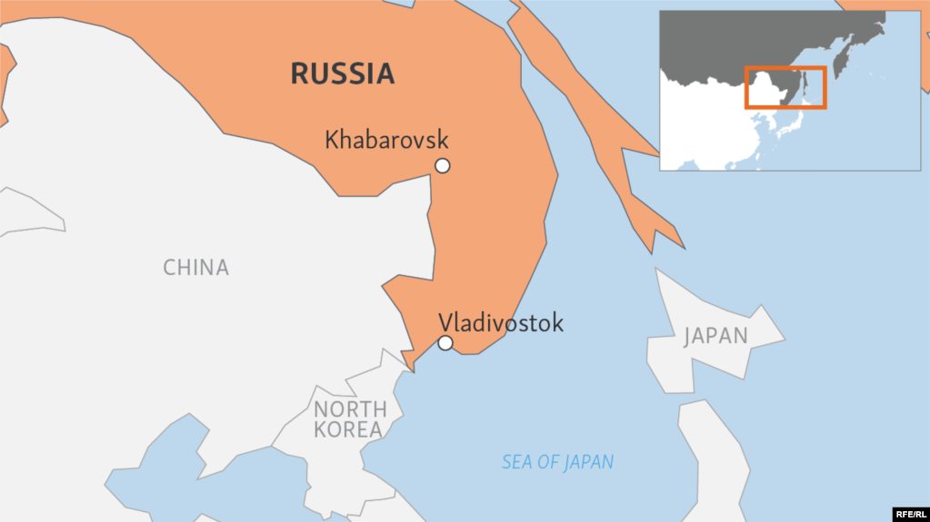 Gunman Kills Two People At Russian FSB Office In Khabarovsk