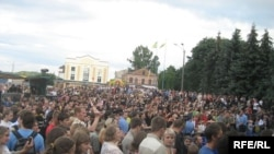 Ukraine -- Bulba festival, Dubno, 20Jul2008