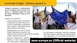 Քաղաքական գովազդ. «Ուկրաինա - Եվրոպա. Ինչ կտա Ձեզ Ասոցացման պայմանագիրը»