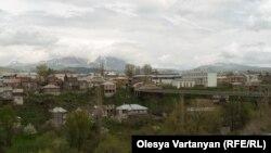 Տեսարան Ջավախքի Ախալքալաք քաղաքից, արխիվ