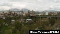 Վրաստան, Ջավախք - Տեսարան Ախալքալաք քաղաքից