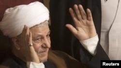 آیتالله اکبر هاشمی رفسنجانی، رئیس مجلس خبرگان رهبری و مجمع تشخیص مصلحت نظام
