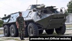 Baza militară de la Mărculești.