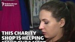 Kazakh Charity Shop Helps Make Ends Meet