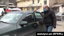 Armenia -- Taxi drivers in Alaverdi. 02Apr.,2020