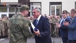 Перший в Україні добровольчий полк «Дніпро-1» святкує день народження (відео)