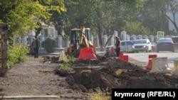 В ходе реконструкции улицы Льва Толстого в Севастополе в 2020 году срубили 256 деревьев и 222 кустарника