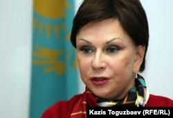 Инесса Киселева, адвокат Аскара Молдашева. Алматы, 5 ноября 2012 года