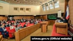 Зал заседаний крымского парламента, 13 сентября 2019 года