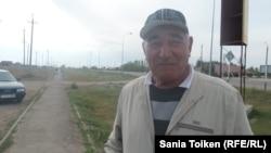 Турлыбек Абишев, житель села Кабанбай-батыра. 3 сентября 2016 года.