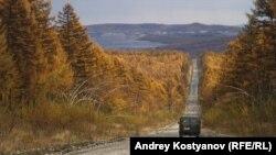 Слева за лесом – Албынский рудник