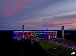 Deutsche Bank Park, Waldstadion, la Frankfurt, 23 iunie 2021