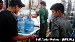 Iraq - Inside an water treatment and bottling plant, Kut, 13May2012