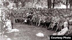 Палявое набажэнства, 1916 год (з альбома Вільгельма Бэргера)
