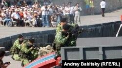 Торжества в Севастополе по случаю Дня военно-морского флота России. 27 июля 2014 года.