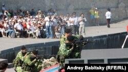 Севастопольдегі Ресейдің әскери-теңіз флоты күнін атап өту салтанаты. 27 шілде 2014 жыл.