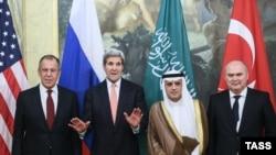 Участники предыдущего раунда венских переговоров по Сирии
