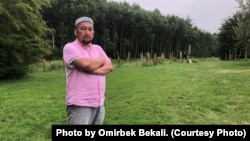 Омирбек Бекалы, этнический казах, бежавший из Синьцзяна и сейчас проживающий в Нидерландах.
