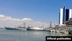 Одеський морський торговий порт, одна з візитівок міста