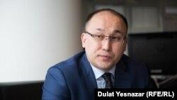 Даурен Абаев в бытность министром информации и коммуникаций Казахстана.