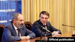 Nikol Pashinian və Valeri Osipian