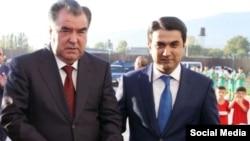 Emomali və Rustam Raxmon