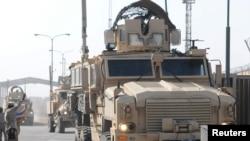 مدربون أميركيون من قوات المارينز لتدريب قوات البحرية العراقية في أم قصر