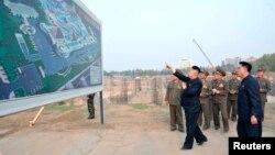 Лидерот на Северна Кореја, Ким Јонг Ун.