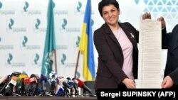 Cамый большой бюллетень в истории президентских выборов Украины