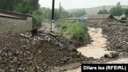 Село Елтай после стихии. 14 мая 2020 года.