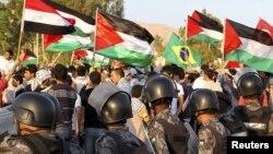 Антиизраильская демонстрация в Иордании
