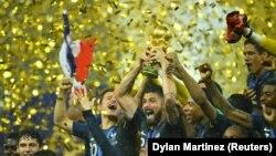 Franca fitoi Kupën e Botës në Futboll, 2018.