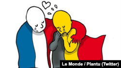 #JeSuisBruxelles -- Powerful Social Media Memes Express Support For Victims Of Terrorist Attacks In Belgian Capital