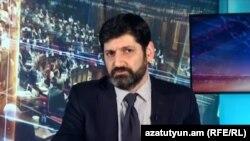 Судья Конституционного суда Ваге Григорян, Ереван, 3 ноября 2019 г.