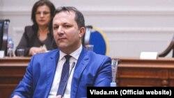 Министерот Оливер Спасовски