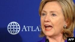 Sekretarja amerikane e Shtetit, Hillari Klinton, 22 shkurt 2010.