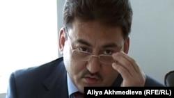 Алматы облысының прокуроры Ғабит Миразов. Талдықорған, 20 шілде 2012 жыл.