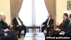 Armenia/EU - Foreign Minister Edward Nalbandian meets with Herbert Salber, the EU's special representative for the South Caucasus, Yerevan,10May2016