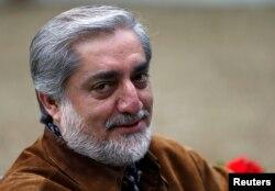 Ауғанстан президенттігіне кандидат, бұрынғы сыртқы істер министрі Абдулла Абдулла.