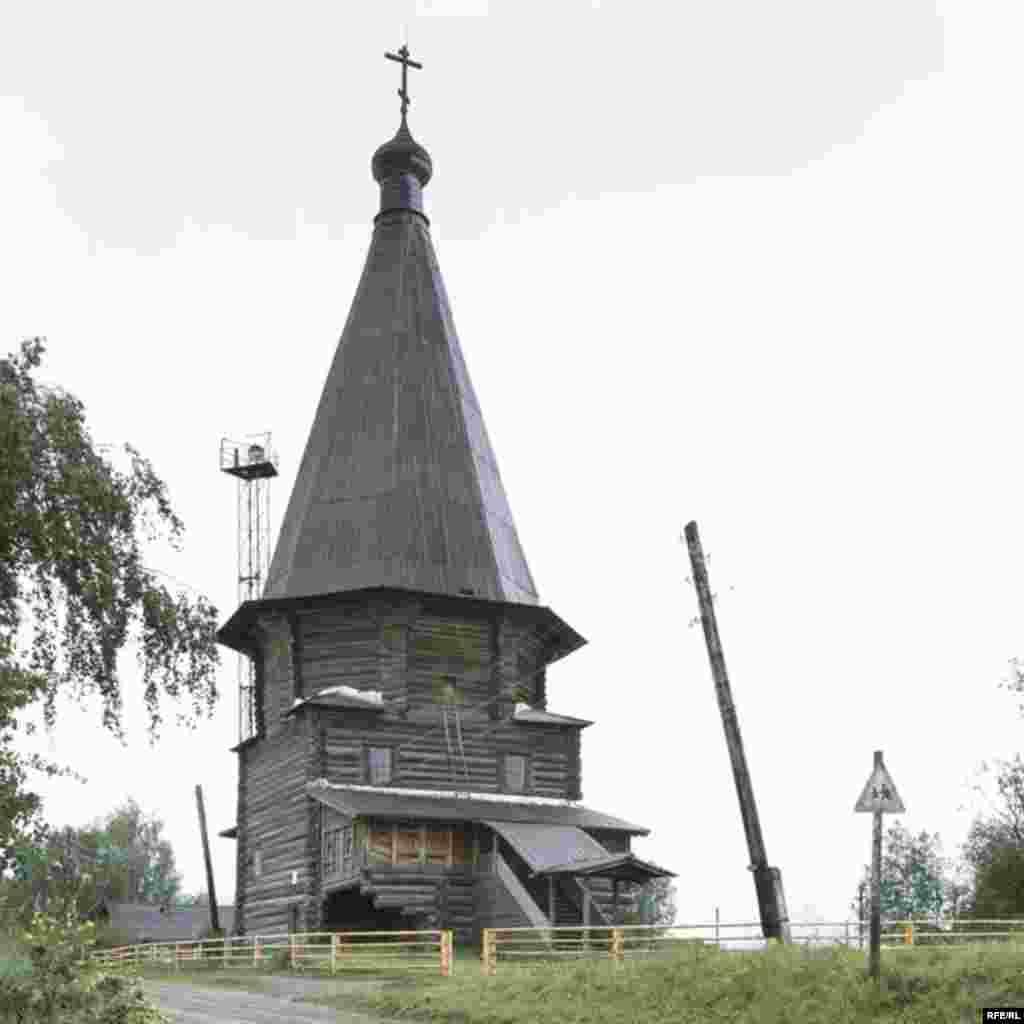 Russia's Vanishing Wooden Churches #1
