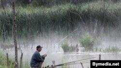 Ранішняя рыбалка.